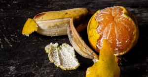 Les bienfaits de la peau de banane et la peau d'orange
