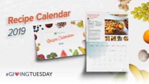 Obtenez notre calendrier de recettes 2019
