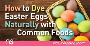 Comment teindre les oeufs de Pâques naturellement avec des aliments courants