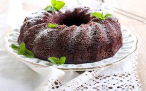 Gâteau au chocolat soufflé pâle facile sans farine