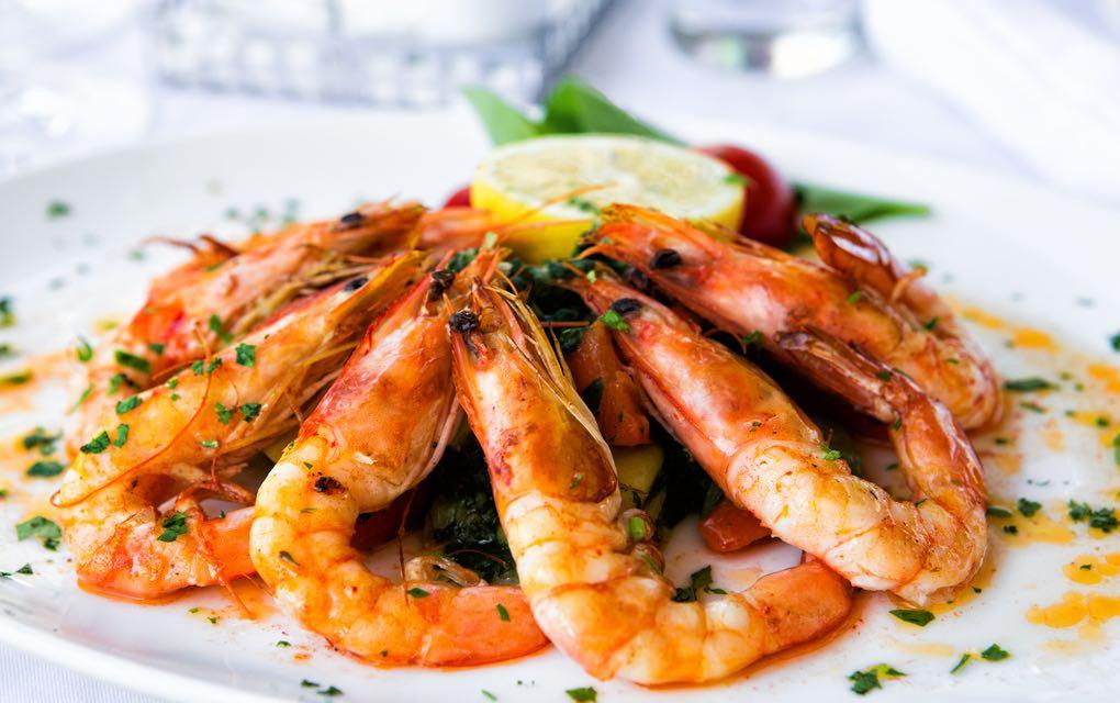 Chimichurri aux crevettes Keto