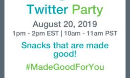 #MadeGoodForYou Twitter Party