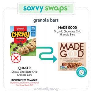 [Savvy Swaps] Barres granola