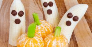 Fait par moi: Recettes de gâteries d'Halloween plus saines