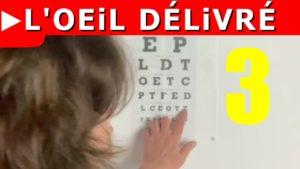 Utiliser un tableau optométrique pour améliorer sa vue (3/4)